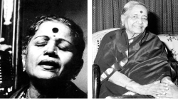 The earliest women I saw and heard in music and who marked my memories profoundly were M.S. Subbulakshmi and D.K. Pattammal.